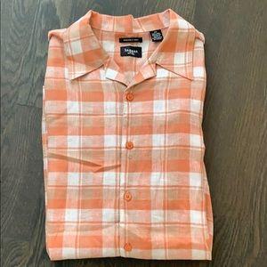 NWOT Haggar Lightweight Short Sleeve Casual Shirt!